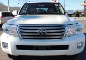 TOYOTA LAND CRUISER 2014, SINGLE OWNER